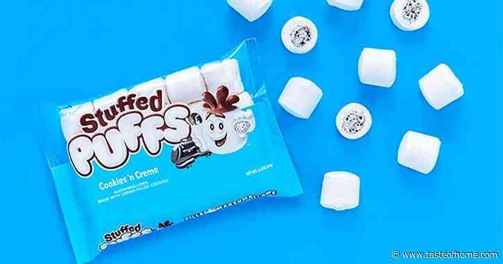 Stuffed Puffs Just Revealed a Cookies 'n Creme Marshmallow for Summer S'mores
