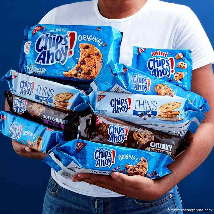 Chips Ahoy! Just Revealed Its Brand-New Cookies Made with Golden Candy Chips