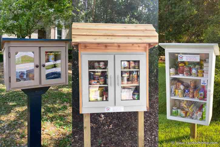 How to Help the Hungry with Little Free Pantries