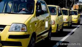 Alrededor de 350 taxistas de Sogamoso apoyaron el paro nacional - Caracol Radio