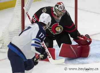 Zaitsev scores winning goal to lead Ottawa Senators past slumping Winnipeg Jets 2-1