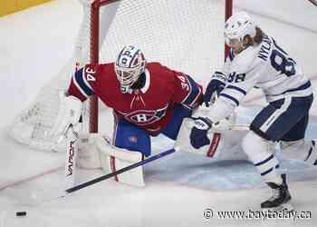 Cole Caufield scores his second OT winner, Canadiens edge Leafs 3-2