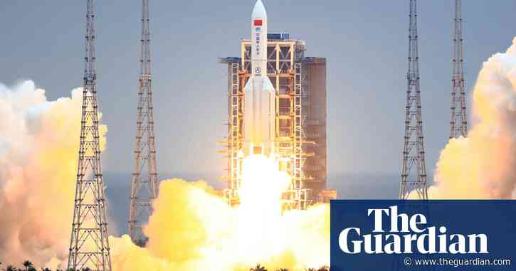 'Out-of-control' Chinese rocket tumbling to Earth
