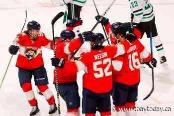 Barkov scores OT winner, Panthers over Stars 5-4.
