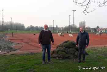 Voetbal- en tenniscomplex wordt uitgebreid met drie padelterreinen - Gazet van Antwerpen