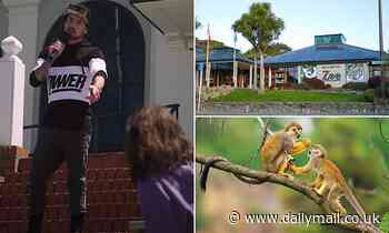 Lovestruck lothario jailed for attempt to steal a monkey from New Zealand zoo for his girlfriend