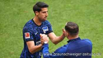 Bundesliga: Hertha schöpft Mut im Abstiegskampf