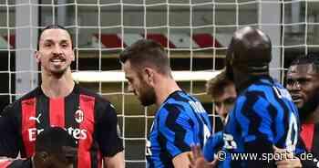 Mailand: Zlatan Ibrahimovic und Romelu Lukaku zu Geldstrafen verurteilt - SPORT1