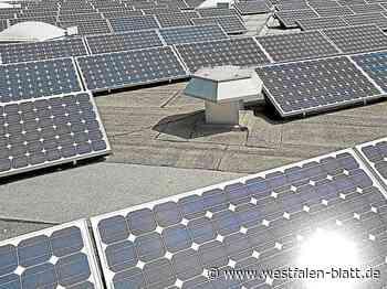 Bauausschuss befürwortet Antrag der SPD: Überprüfung öffentlicher Gebäude: Solaranlagen bald überall? - Rahden - Westfalen-Blatt