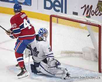 Goal Caufield: Rookie sniper scores his 2nd straight OT winner as Habs edge Leafs 3-2