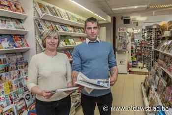 """Jonas neemt krantenwinkel Mikado over van moeder: """"We zijn hier in eerste dertig jaar nog niet weg"""""""