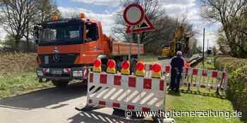 Bauarbeiten in der Schorfheide: Straße voll gesperrt - Halterner Zeitung
