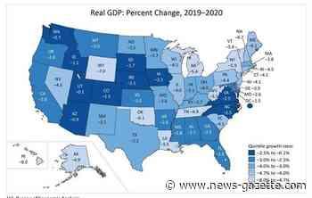 Illinois economy shrinks 4% in 2020 despite fourth-quarter growth - Champaign/Urbana News-Gazette