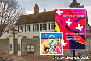 Mikey Skinner art display to open at The Grange, Rottingdean