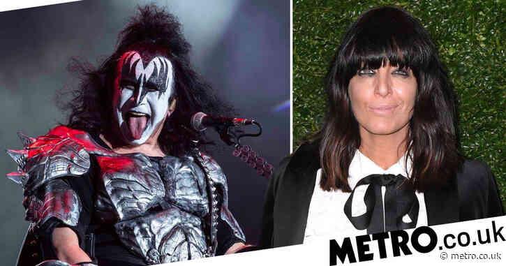 Claudia Winkleman wants to look like aging rockers Gene Simmons and Alice Cooper