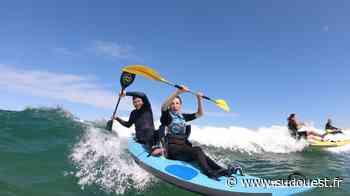 Un week-end dédié au waveski et au handicap à Mimizan - Sud Ouest