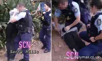 Cop who kicked an Aboriginal teen to ground face-first for 'threatening' him charged with assault
