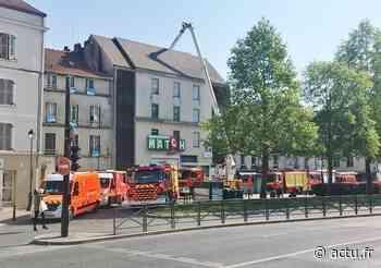 Meaux : pourquoi 7 camions de pompiers sont garés devant le parking du Grand Cerf - La Marne