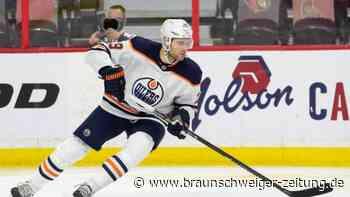 Eishockey: Draisaitl und Kahun mit Oilers für NHL-Playoffs qualifiziert