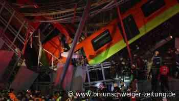 Brücke eingestürzt: U-Bahn-Unglück in Mexiko-Stadt: Mindestens 15 Tote