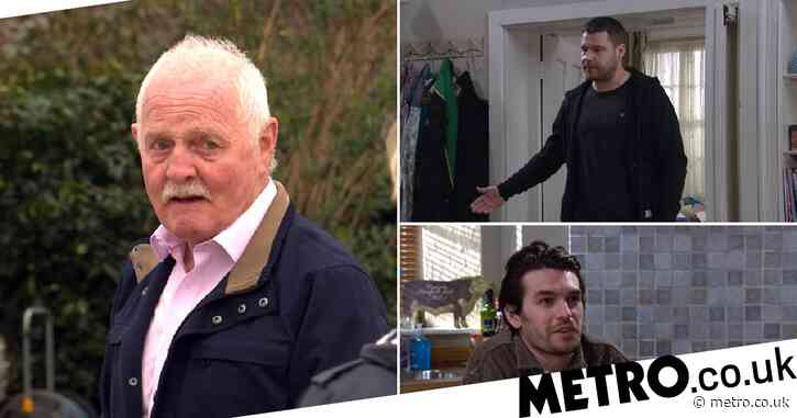 Emmerdale spoilers: Eric Pollard badly injures Aaron Dingle with a cricket bat