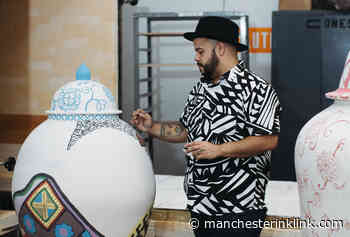 Artist Roberto Lugo – potter, painter, social activist and poet – brings his joy to the Currier Museum - Manchester Ink Link