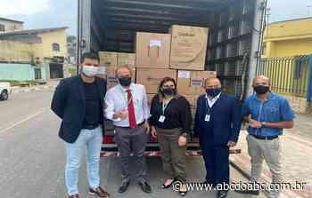 Consórcio ABC realiza entrega de insumos hospitalares para Rio Grande da Serra - ABCdoABC