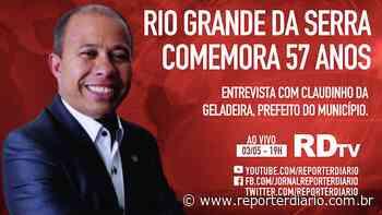 Boletim RDtv 03/05/2021, às 19h: Rio Grande da Serra comemora 57 anos - Repórter Diário