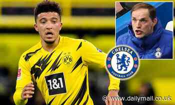 Chelsea 'enter the fight for Jadon Sancho' with Thomas Tuchel lining up a raid on his old club