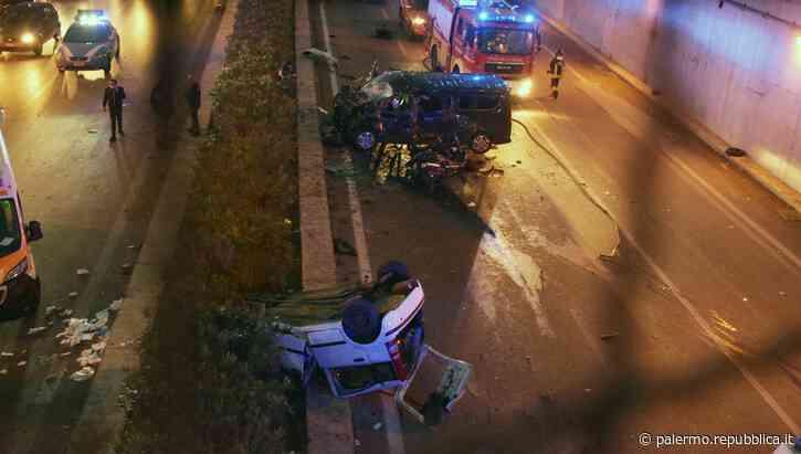 Palermo, incidente alla circonvallazione: morte due donne, 14 feriti - La Repubblica