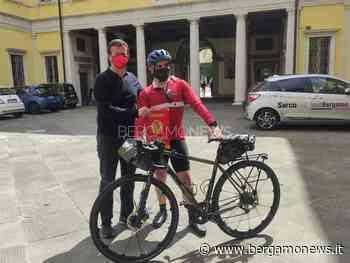 Da Bergamo a Palermo in bici: l'impresa di Dario per far ripartire l'Italia - BergamoNews.it