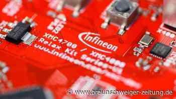 Chiphersteller: Infineon hebt Prognose nach guten Geschäften leicht an