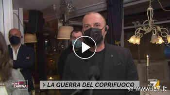 Ristori, la testimonianza di Giacomo da Cesenatico: 'Il problema è l'irregolarità nella gestione delle cose' - La7