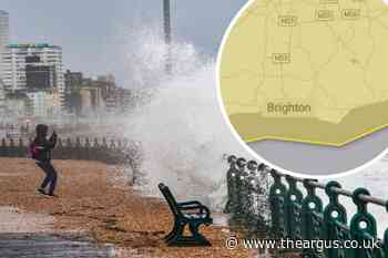 Weather: Yellow warning for strong winds throughout Sussex