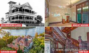 Famous but derelict Brisbane Federation classic 'Lamb house' for sale - but it needs a MASSIVE reno