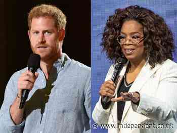 Prince Harry's new TV series on mental health with Oprah Winfrey will air later this month