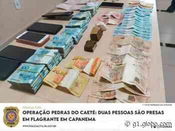 Duas pessoas são presas pelo crime de tráfico de drogas em Capanema - G1