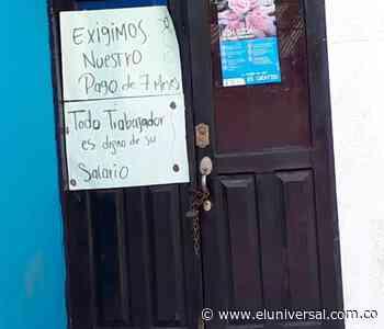 Alcaldía de Altos del Rosario lleva un mes cerrada - eluniversal.com.co
