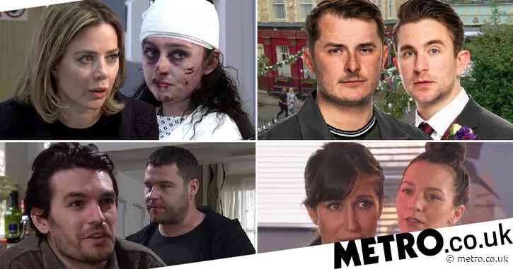 12 soap spoiler pictures: Coronation Street attack aftermath, EastEnders wedding, Emmerdale assault, Hollyoaks abuse horror