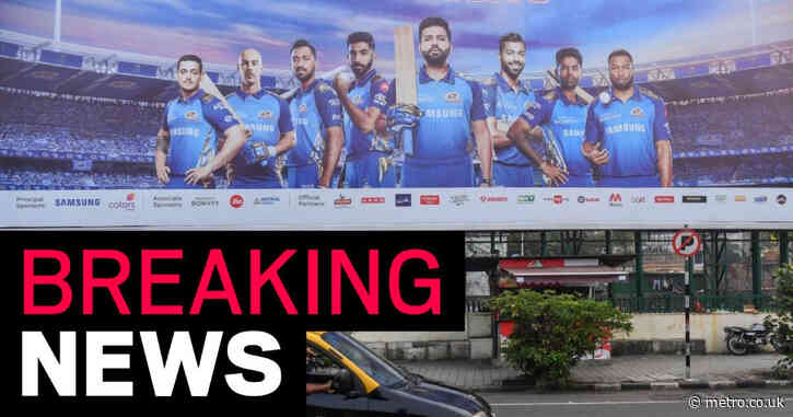 IPL suspended amid India's coronavirus crisis with tournament set to move to Mumbai