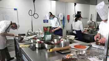 Orchies : comment apprentis et lycéens en hôtellerie-restauration s'adaptent à la crise sanitaire - La Voix du Nord