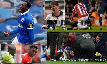 The Premier League's most injury-jinxed players as Danny Welbeck is back in form after years of woe