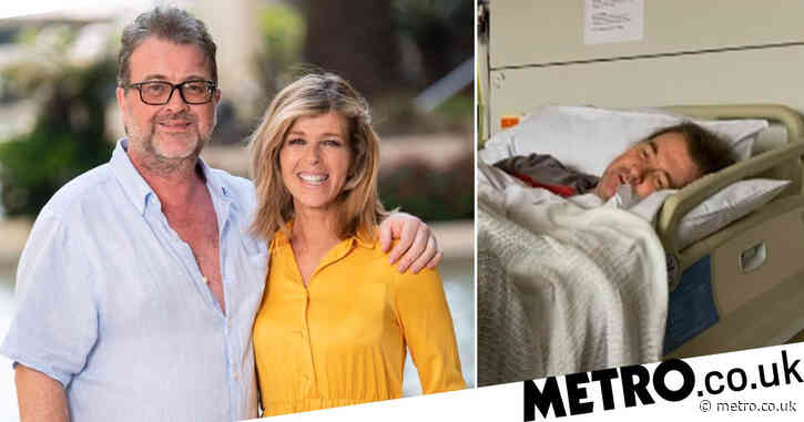 Kate Garraway holds back tears after revealing touching happy birthday message from husband Derek Draper