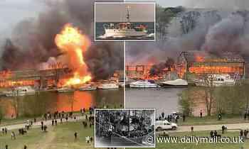 Dunkirk 'Little Ship' is lost in boatyard blaze