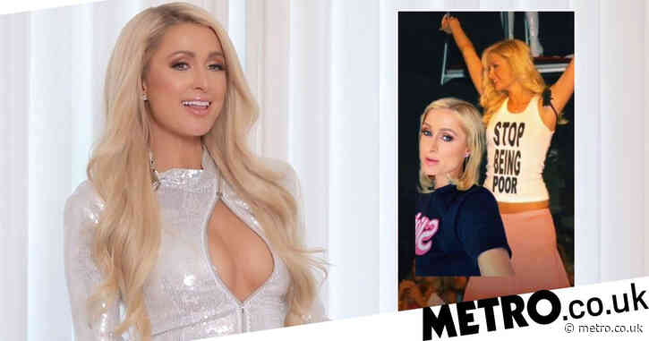 Paris Hilton never actually wore that 'Stop Being Poor' t-shirt