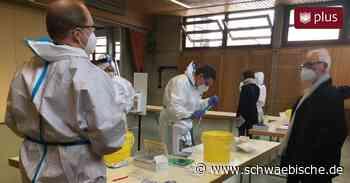 So liefen in Laichingen die Schülertestungen ab - Schwäbische