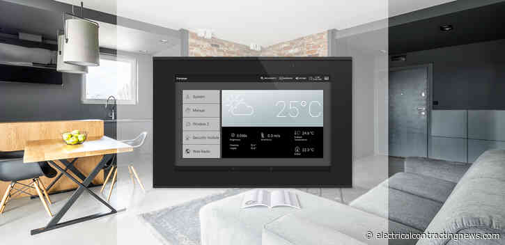 KNX starter sets and central unit for smart KNX buildings