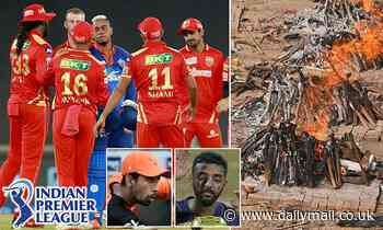 Australian cricket players plunged into Covid-19 isolation as Indian Premier League is called off