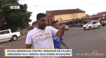 Novas denúncias contra vereador de Cajuru - Record TV