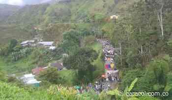 Campesinos de Anorí rechazan injerencia de las disidencias en la protesta - Caracol Radio